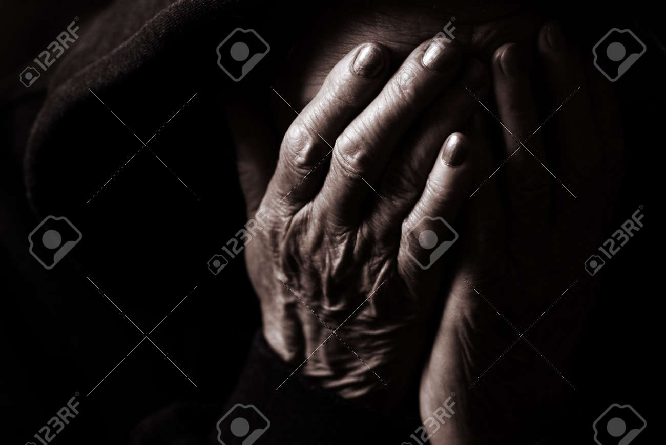 special toned photo f/x, focus point on fingers(selective) Stock Photo - 906435