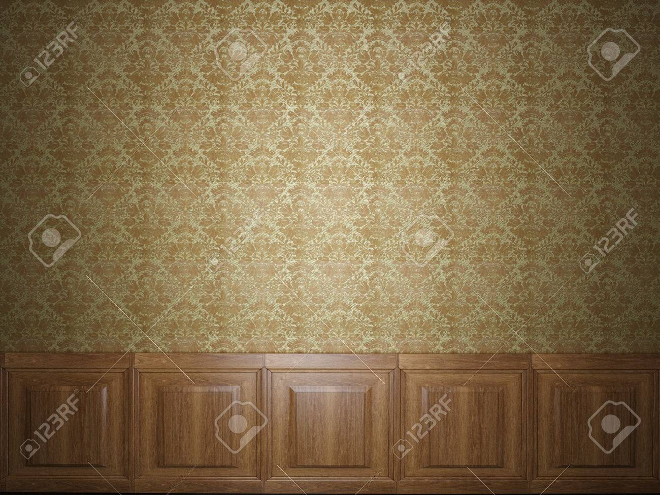 Wood Panel Wallpaper Stock Photo Picture And Royalty Free Image