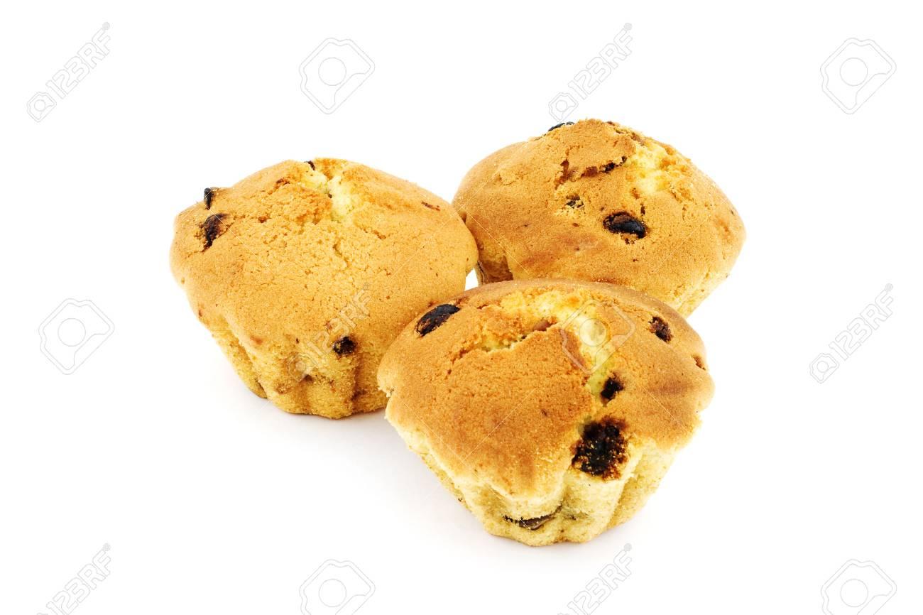 Isolated photo of three fresh fruit-cakes Stock Photo - 2900387