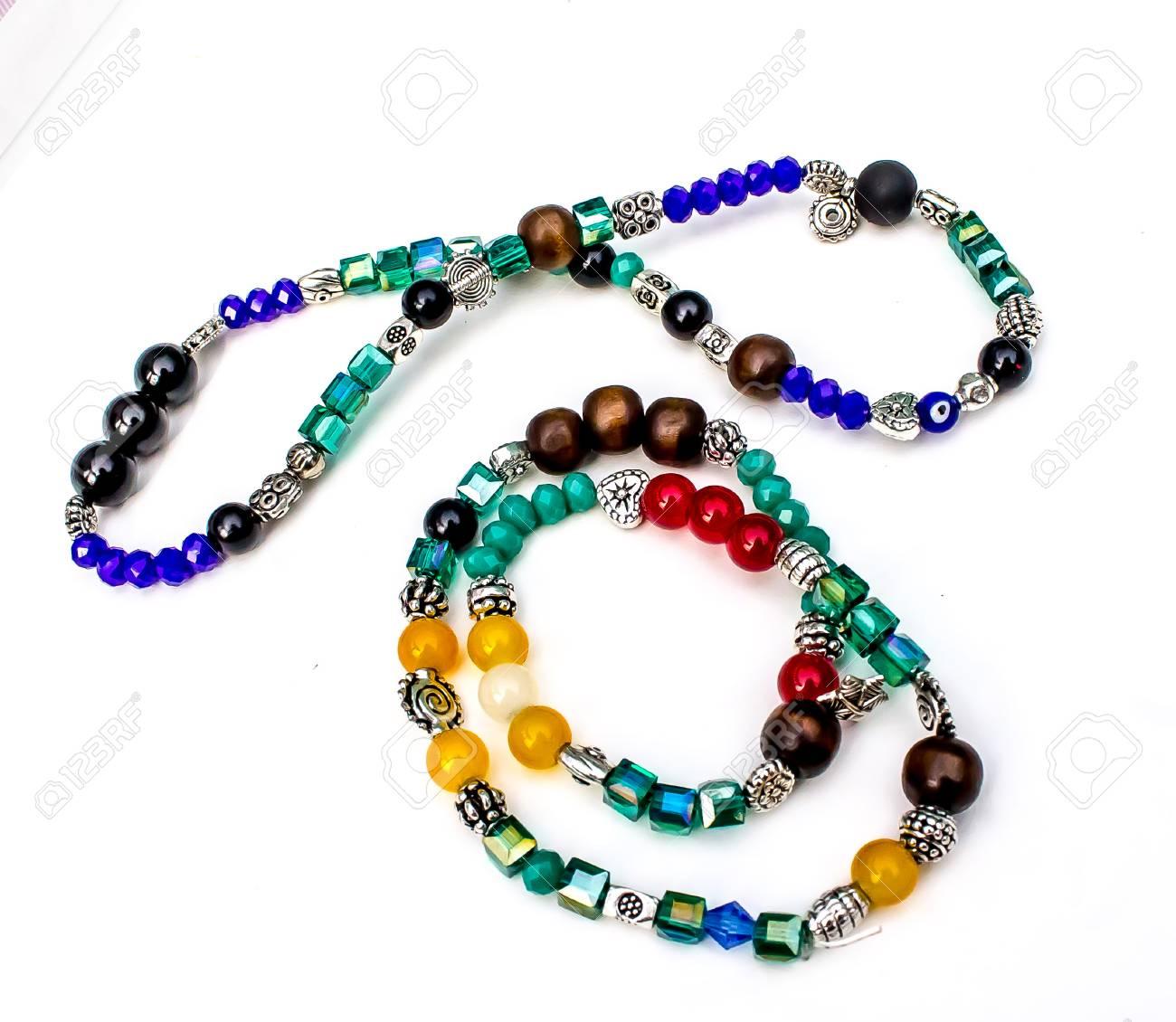 Youth bracelet on white background - 101688040