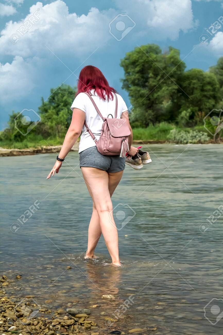 Young Girl In Short Shorts With Big Booty Walks On Water In A Stock Photo Picture And Royalty Free Image Image 127067988 Sur.ly for drupal sur.ly extension for both major drupal version is. young girl in short shorts with big booty walks on water in a