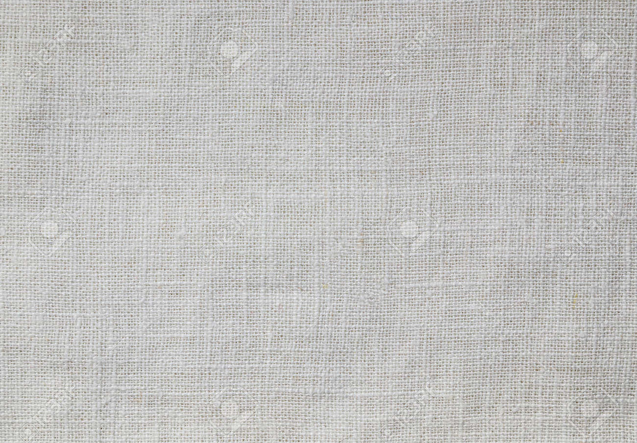 White cotton fabric as background. - 155768688