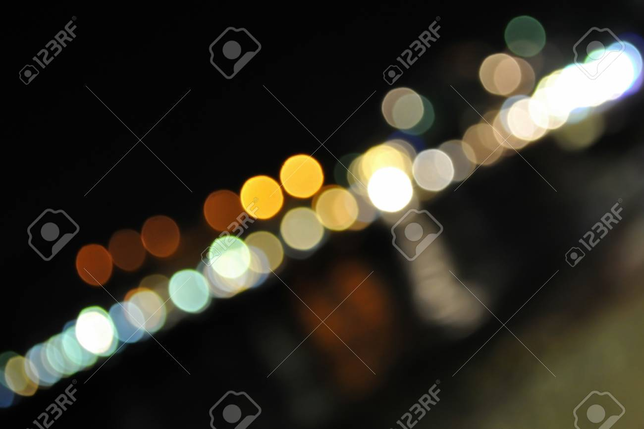 Color blurred lights in diagonal Stock Photo - 15948936