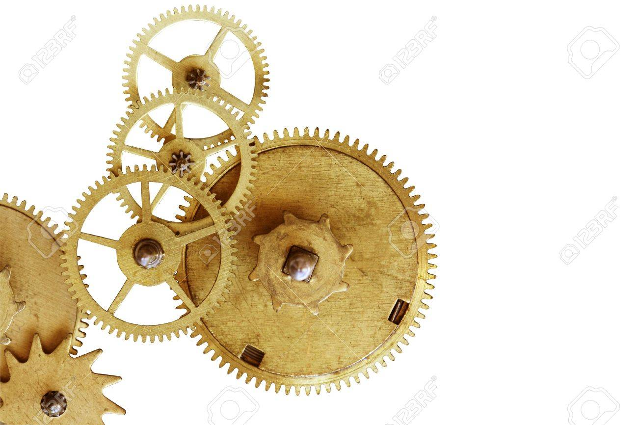 Old gearweels Stock Photo - 5773415