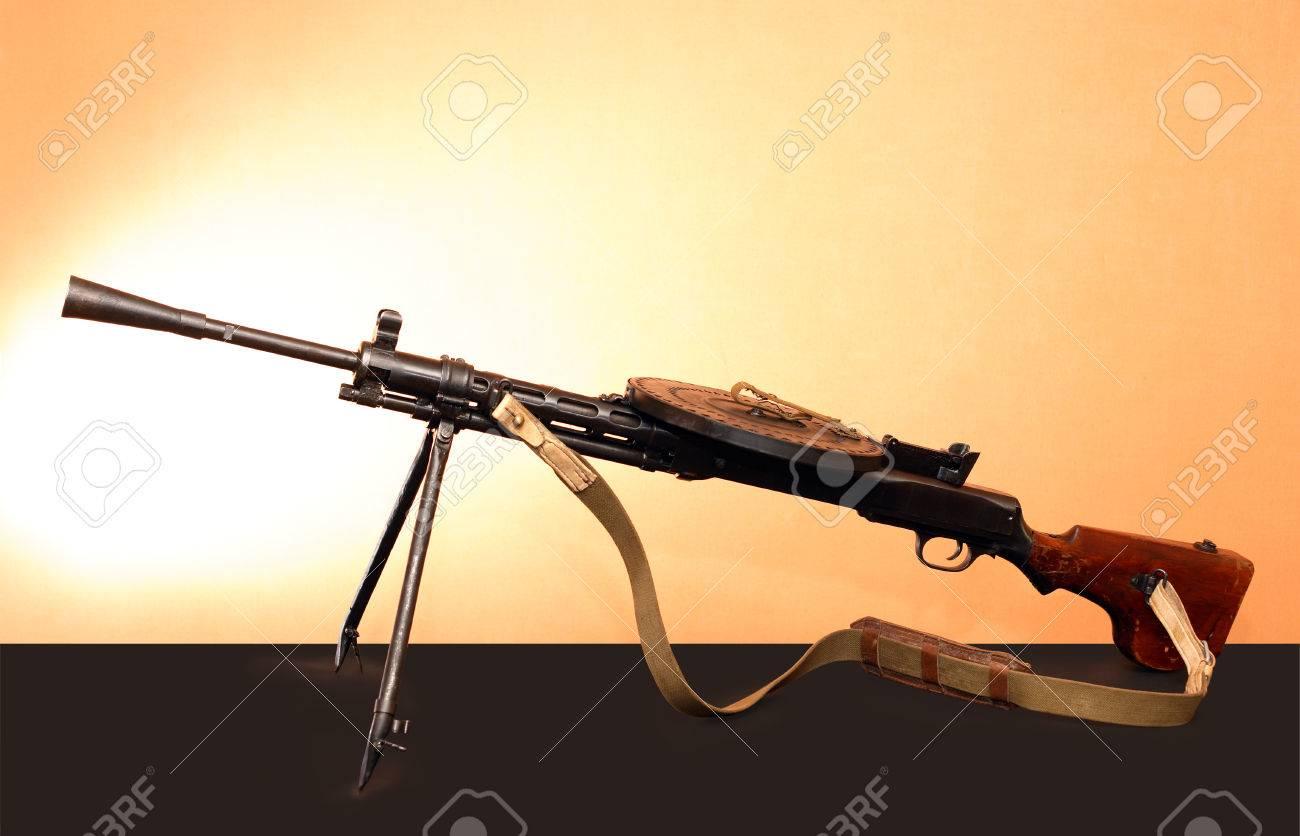 World War II Soviet weapon  Light machine gun