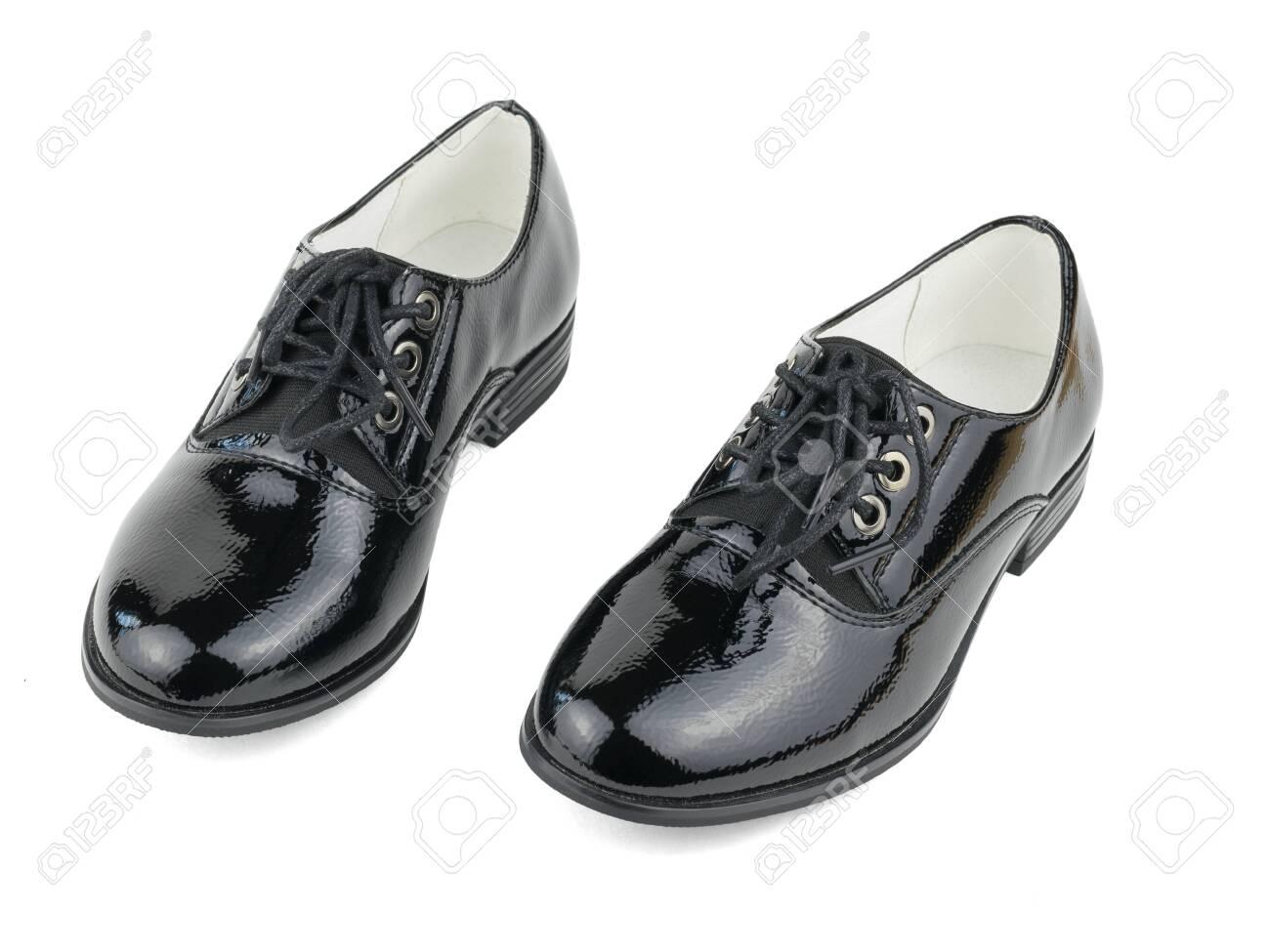 Two Fashionable Black Women's Shoes