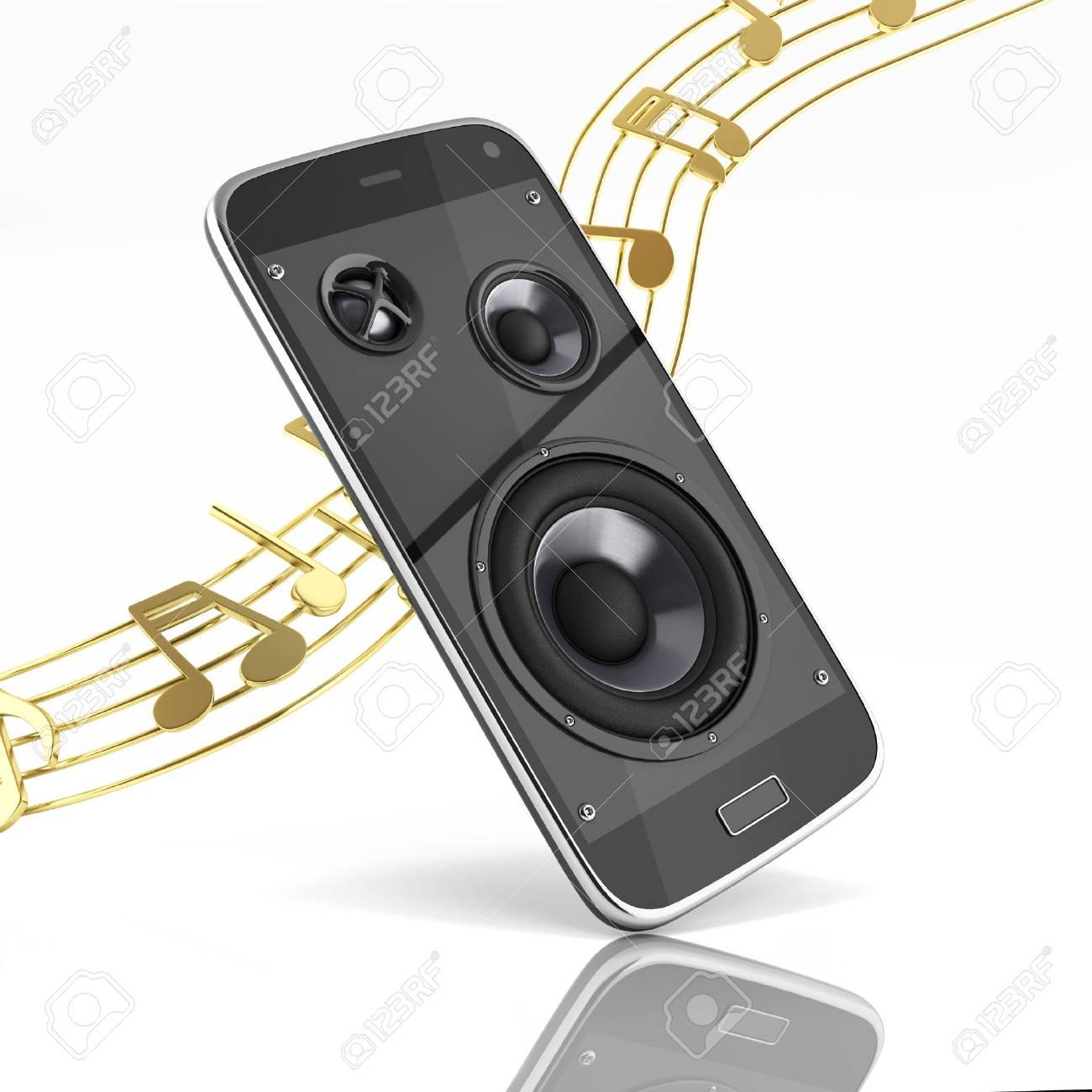 Hervorragend Musikalische Smartphone Handy Musik App Handy Und Lautsprecher Mit EQ43