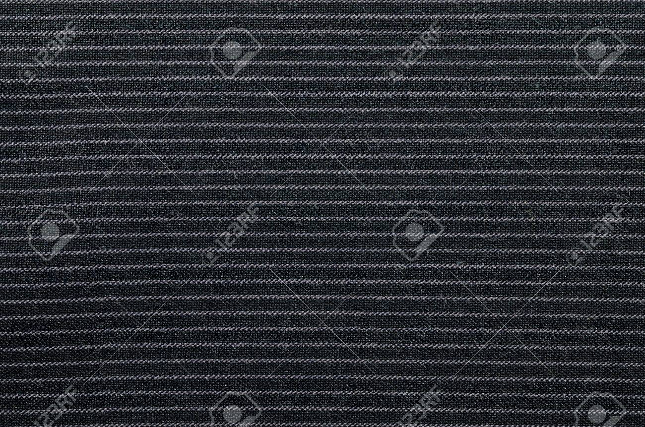 black and white stripe fabric texture Stock Photo - 22169694