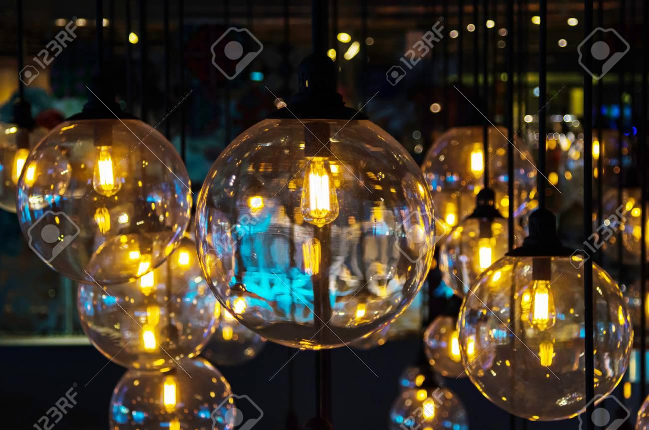 Illuminazione d epoca per la decorazione foto royalty free