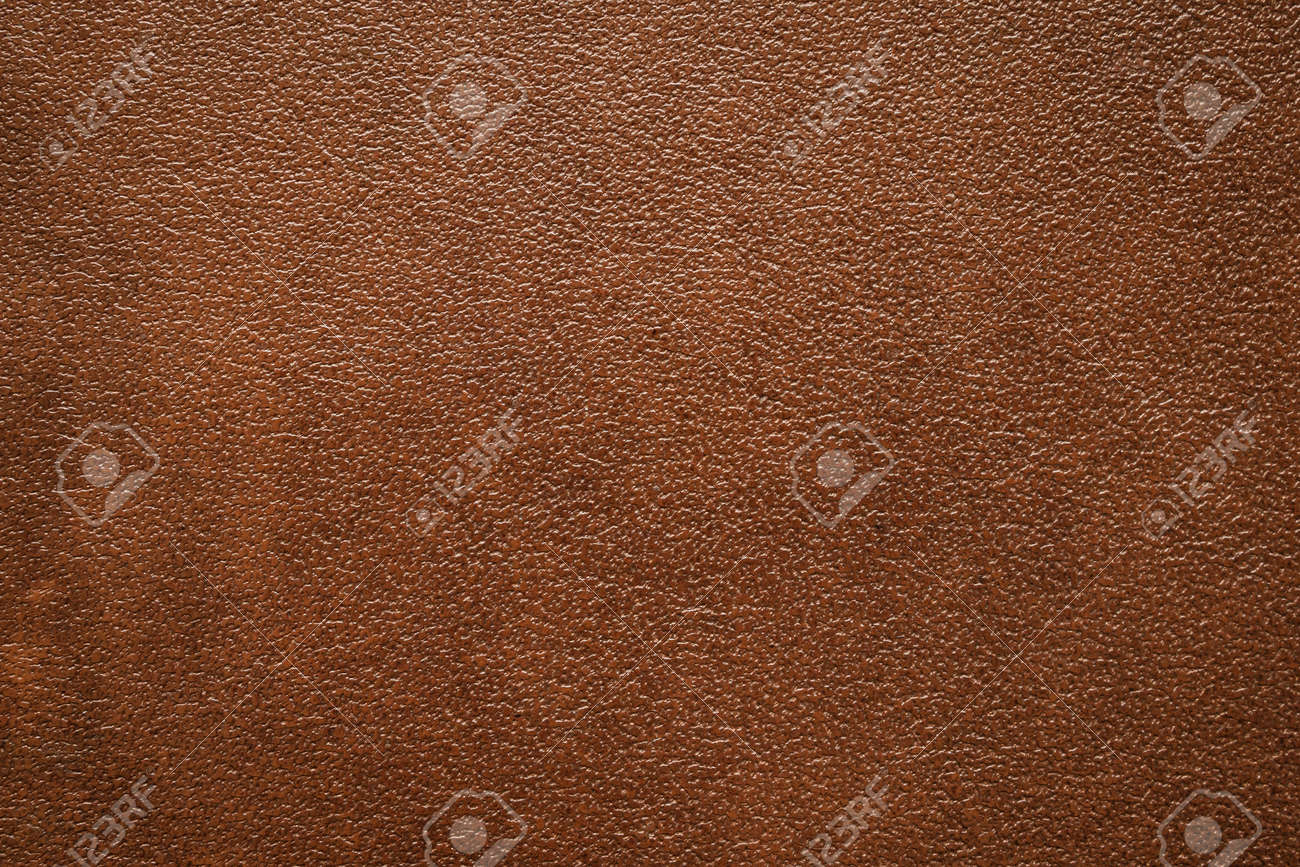 Brown leather texture background close up - 152939180