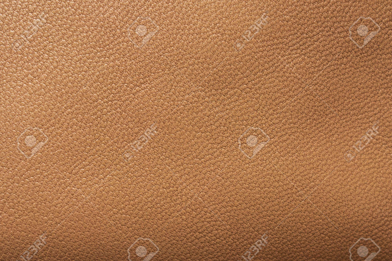 Brown leather texture background close up - 154393393