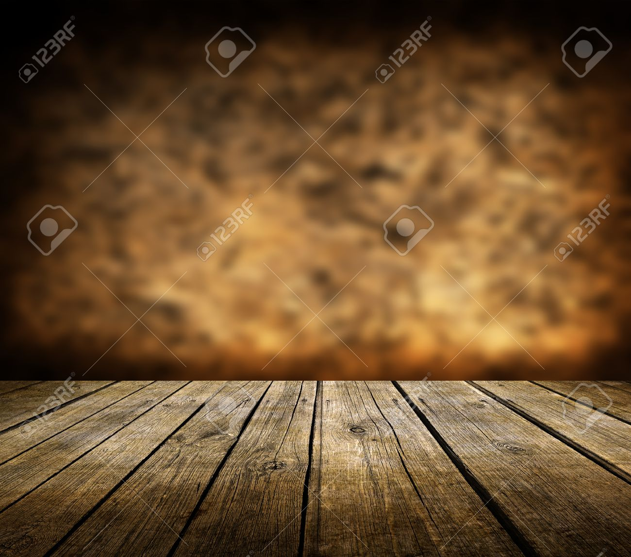 Background image table - Stock Photo Wooden Deck Table And Dark Brown Background Wooden Deck Table And Dark Brown