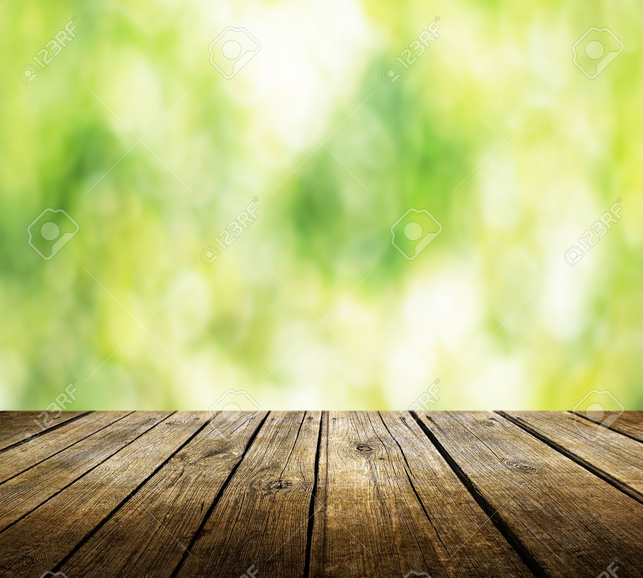 Wood table background hd - Wood Table Perspective Empty Table For Product Display Montages Stock Photo