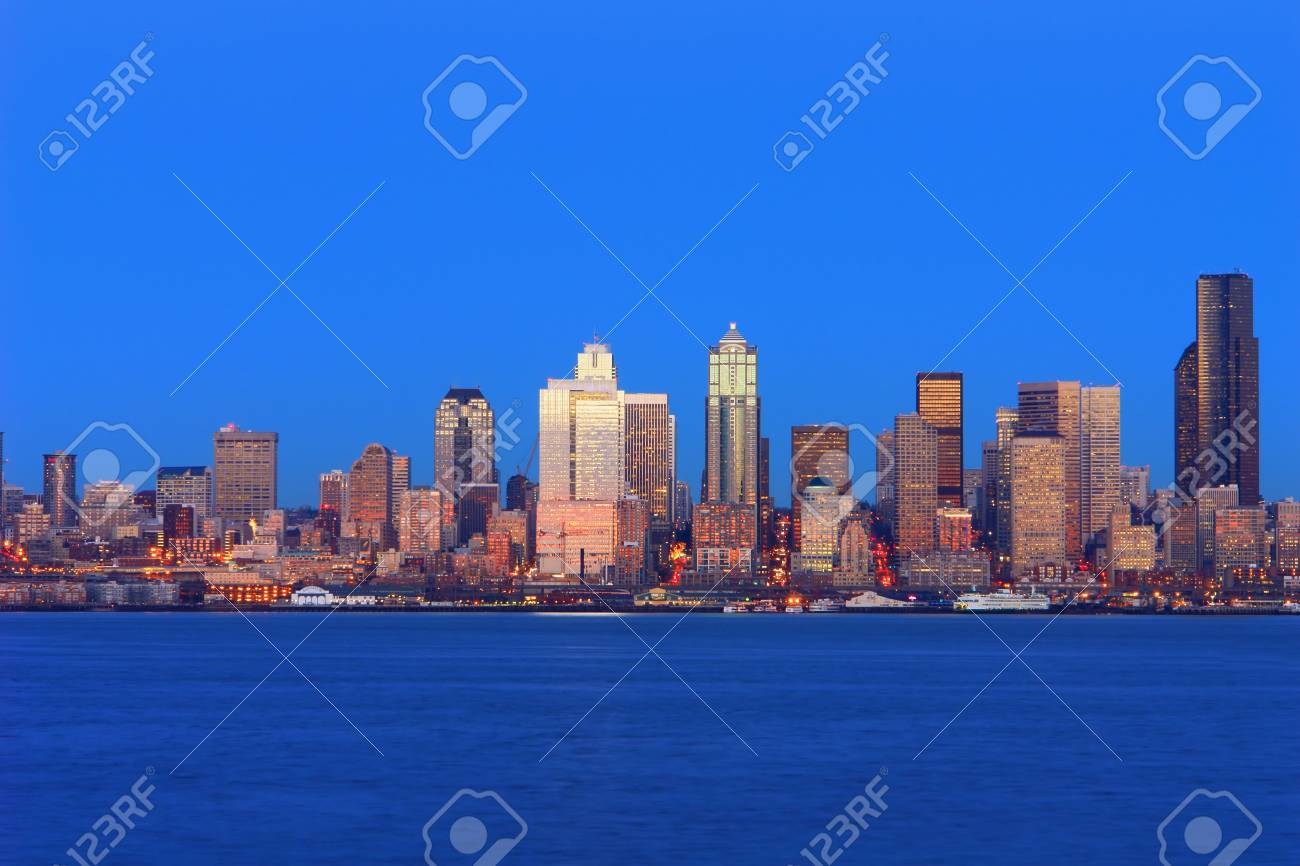 City of Seattle Stock Photo - 751315