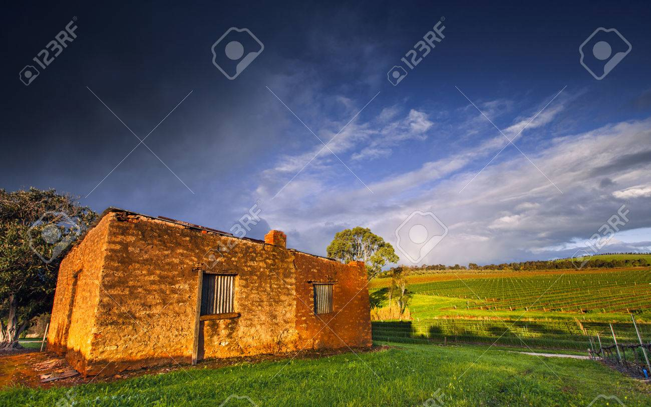 An old abandoned house in South Australia