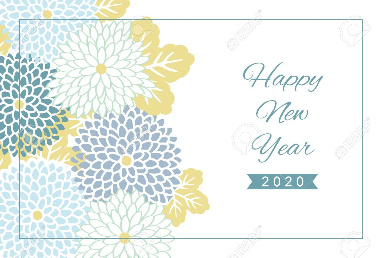 2020 new year card design template with geometric flower pattern royalty free cliparts vectors and stock illustration image 130309756 2020 new year card design template with geometric flower pattern