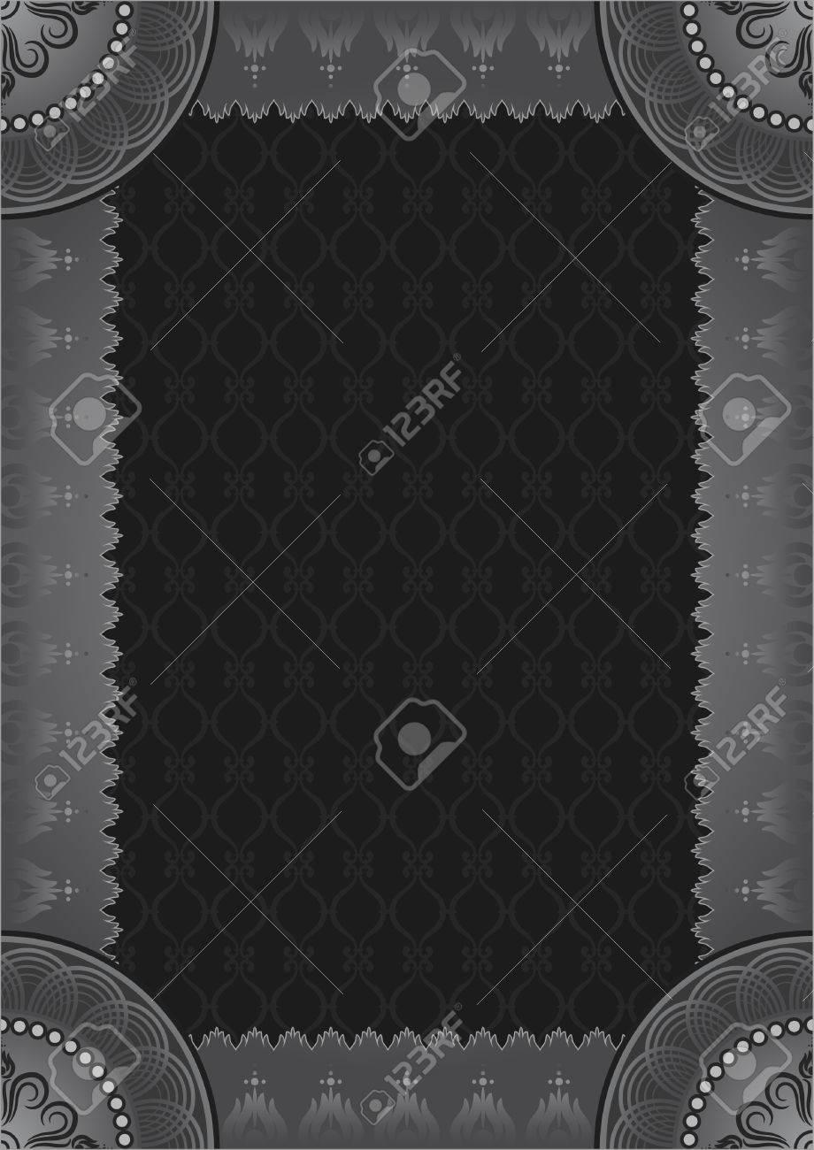 Grey framework Stock Vector - 8077040