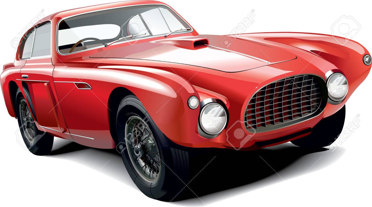 Fictional Old Sports Car Royalty Free Cliparts Vectors And Stock Illustration Image 42376795