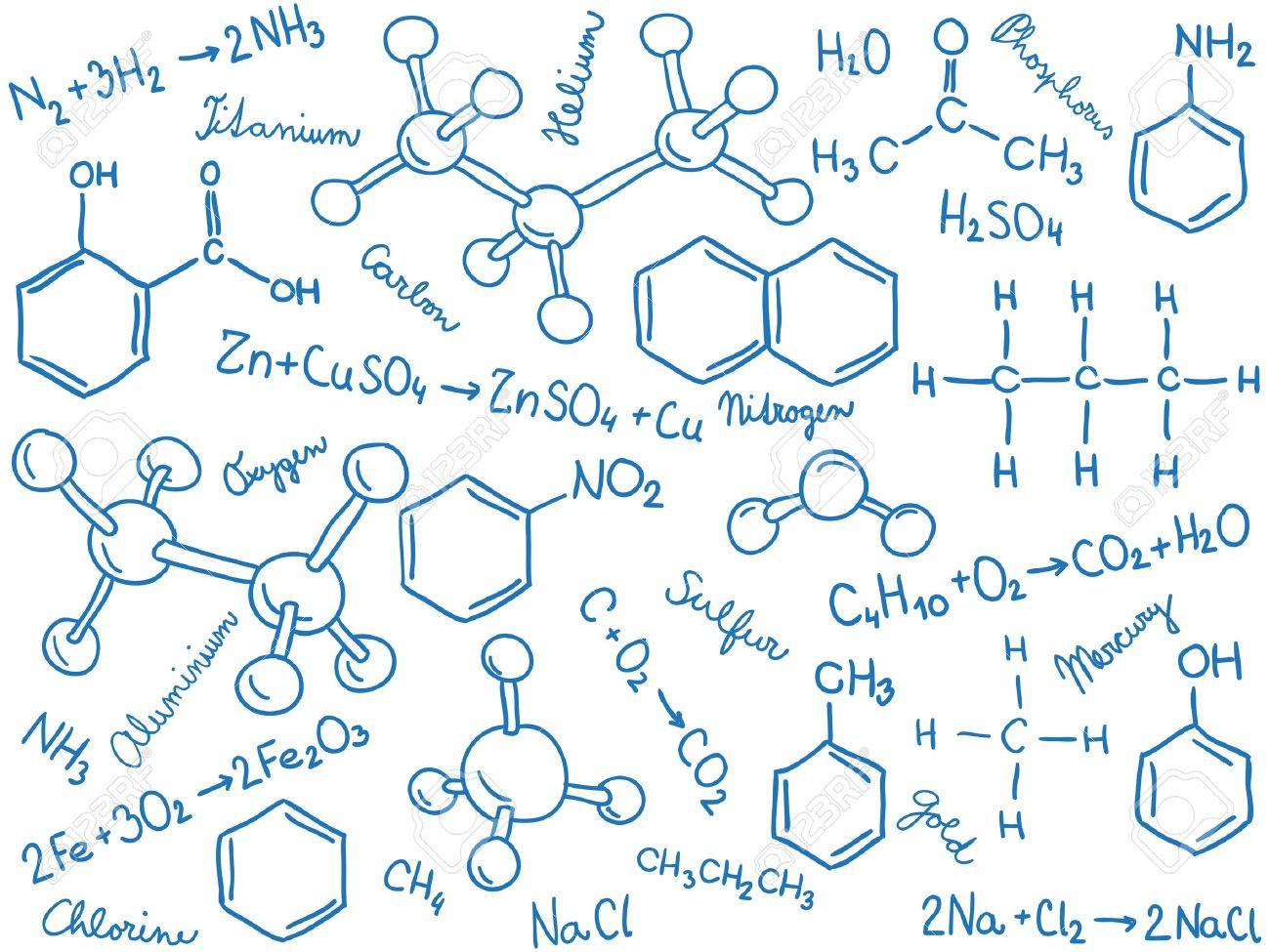 化学背景 - 分子モデルと数式、...