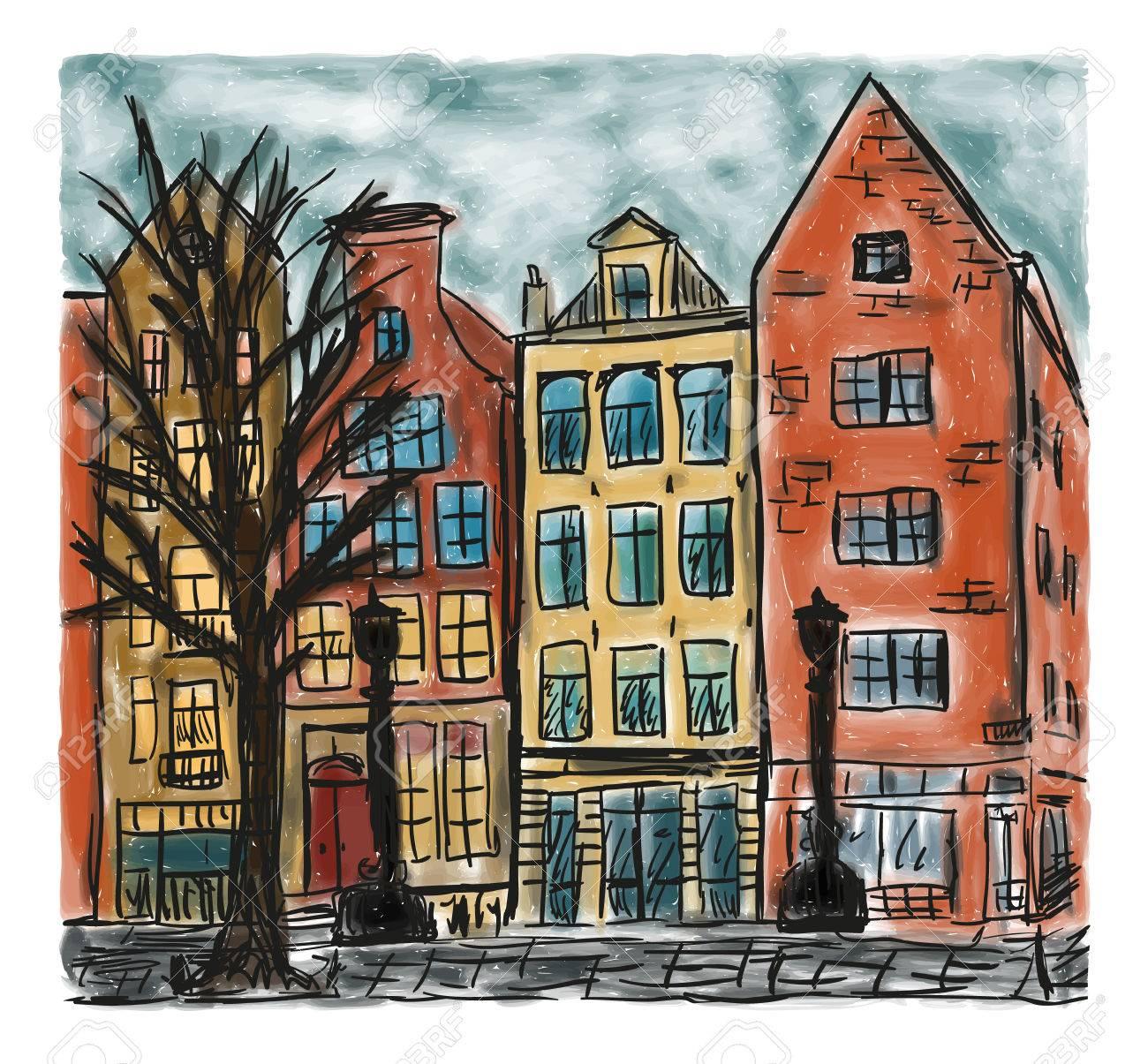 https://previews.123rf.com/images/kytalpa/kytalpa1707/kytalpa170700016/81817519-el-estilo-europeo-de-la-casa-de-la-ciudad-pintura-dibujada-a-mano-coloreada.jpg