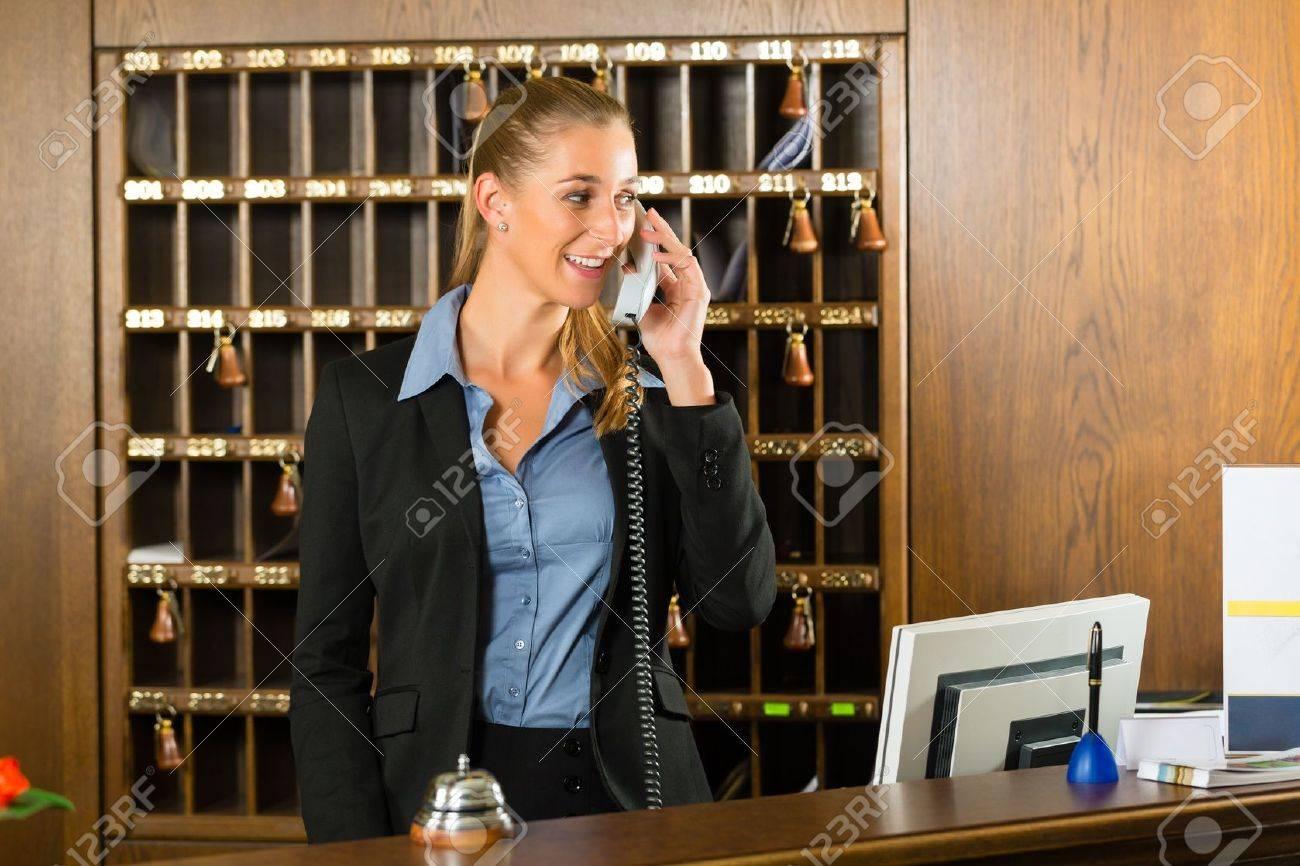 Hotel Desk Clerk
