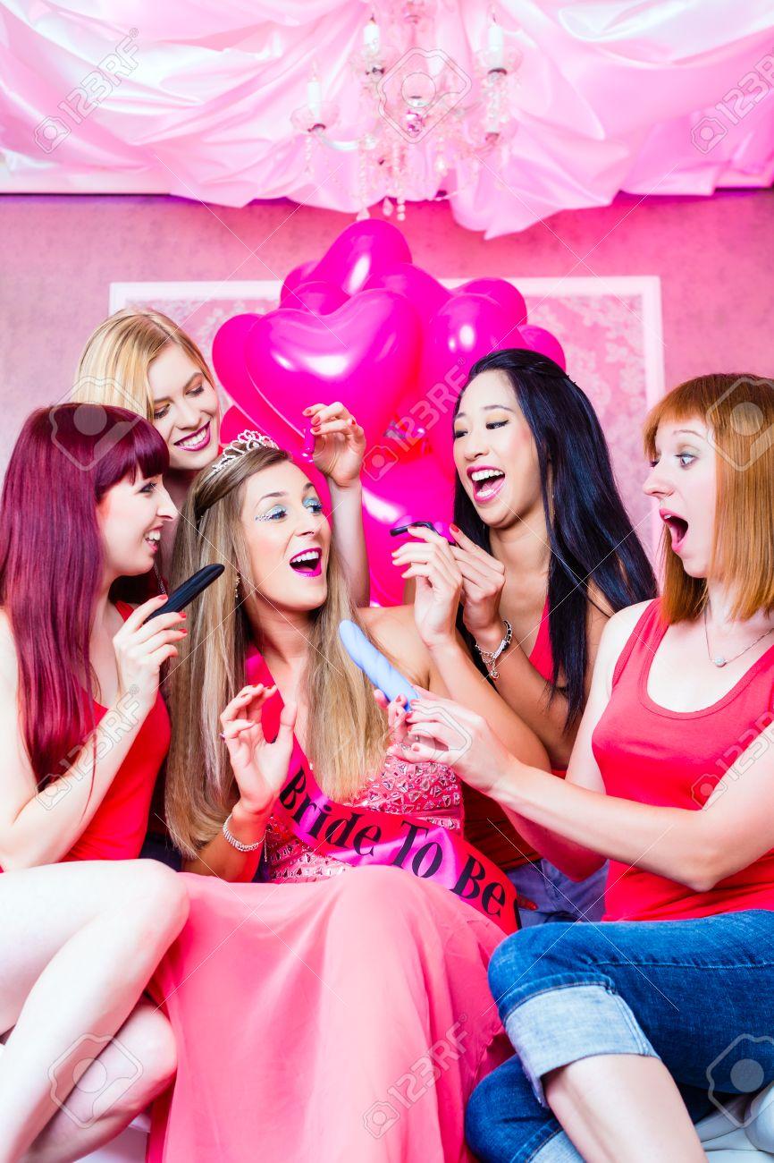 Do women have sex at bachelorette parties