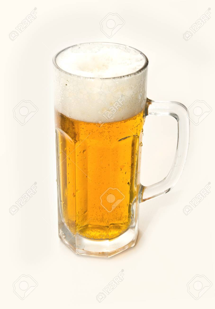 Beer in a glass Stock Photo - 18447575