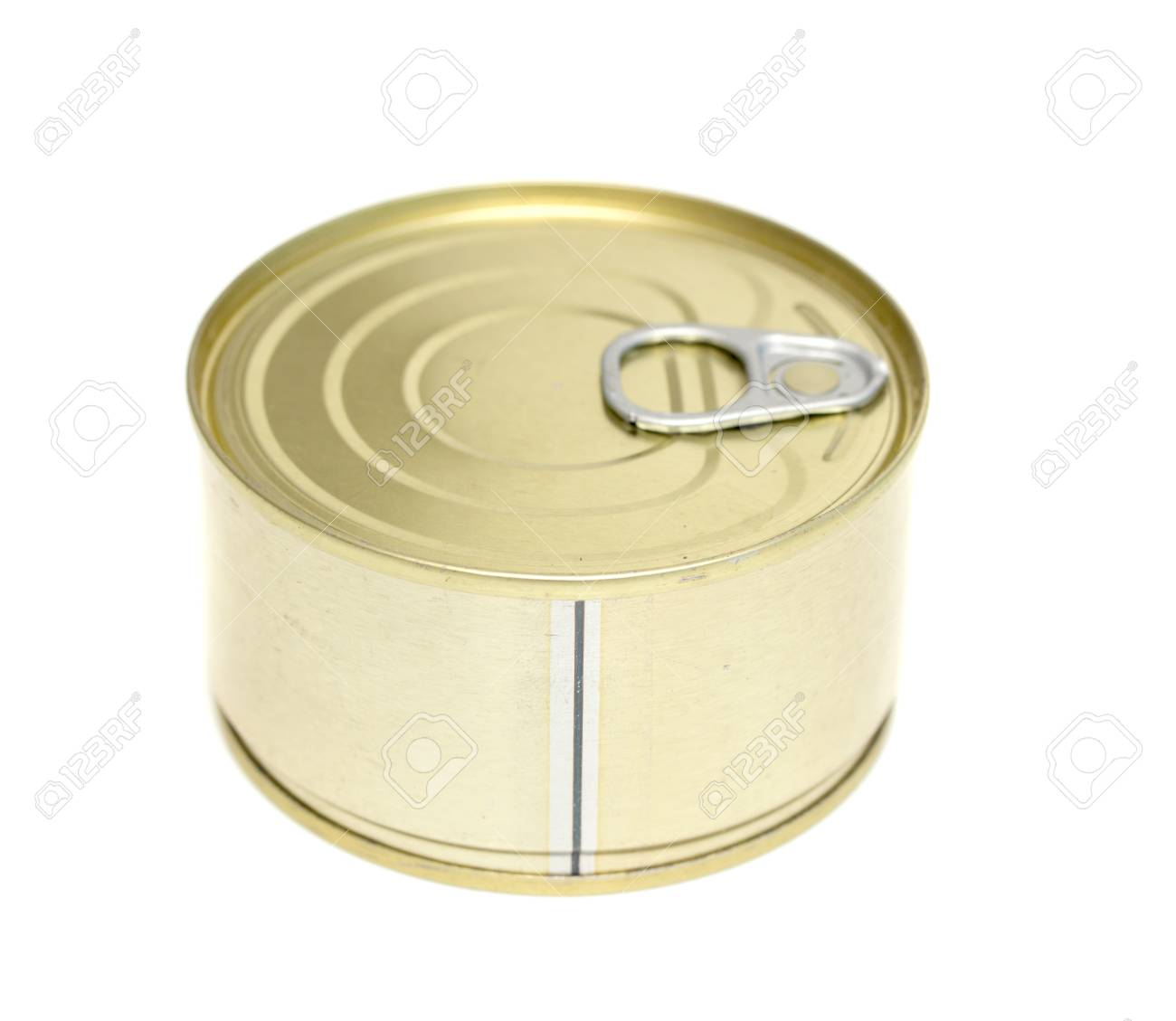 canned meat on a white background Stock Photo - 20813952