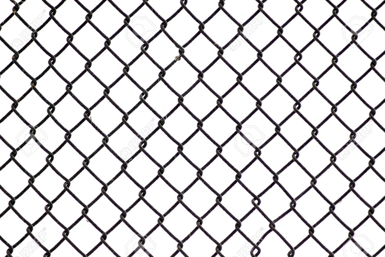 Wire Fence And Snow Texture. Stock Photo, Picture And Royalty Free ...