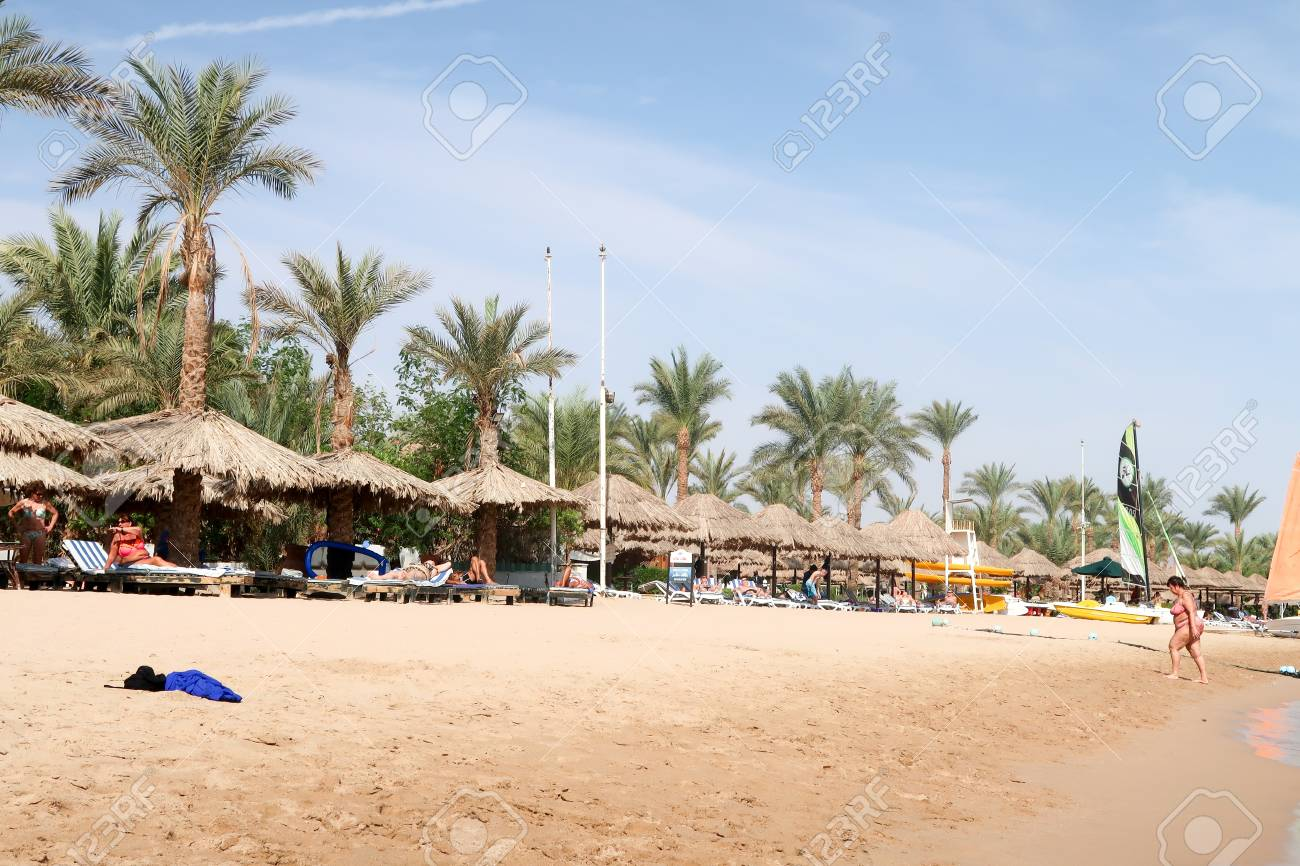 Sharm El Sheikh Egypt November 11 2017 City And Beach Naama Stock Photo Picture And Royalty Free Image Image 93495870