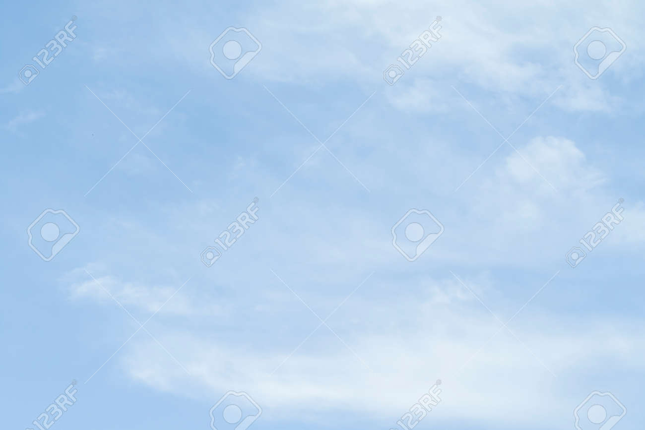 Blue sky as a background on a clear day. - 124465732