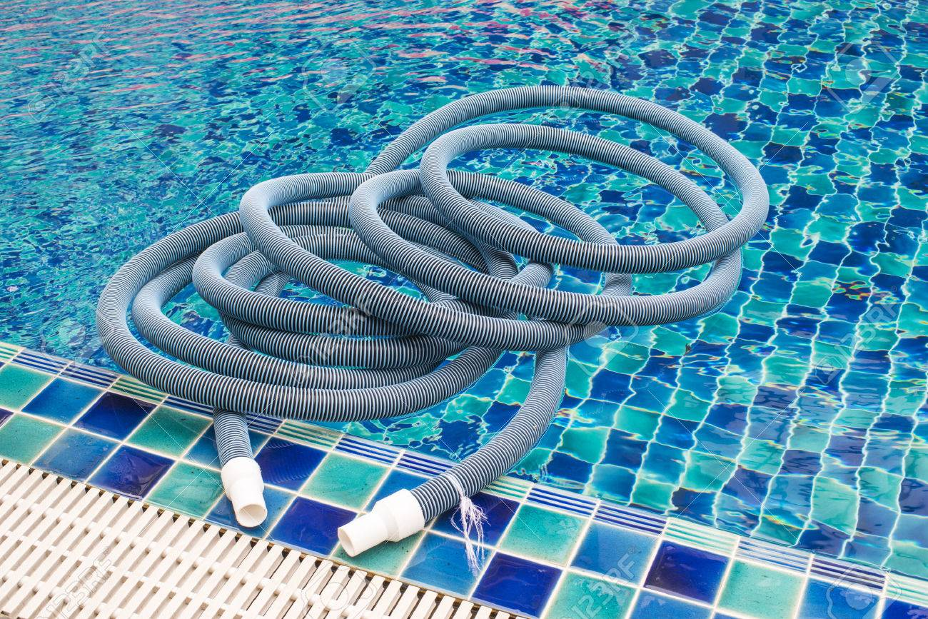 Swimming Pool Vacuum Cleaner Stock Photo, Picture And Royalty Free ...