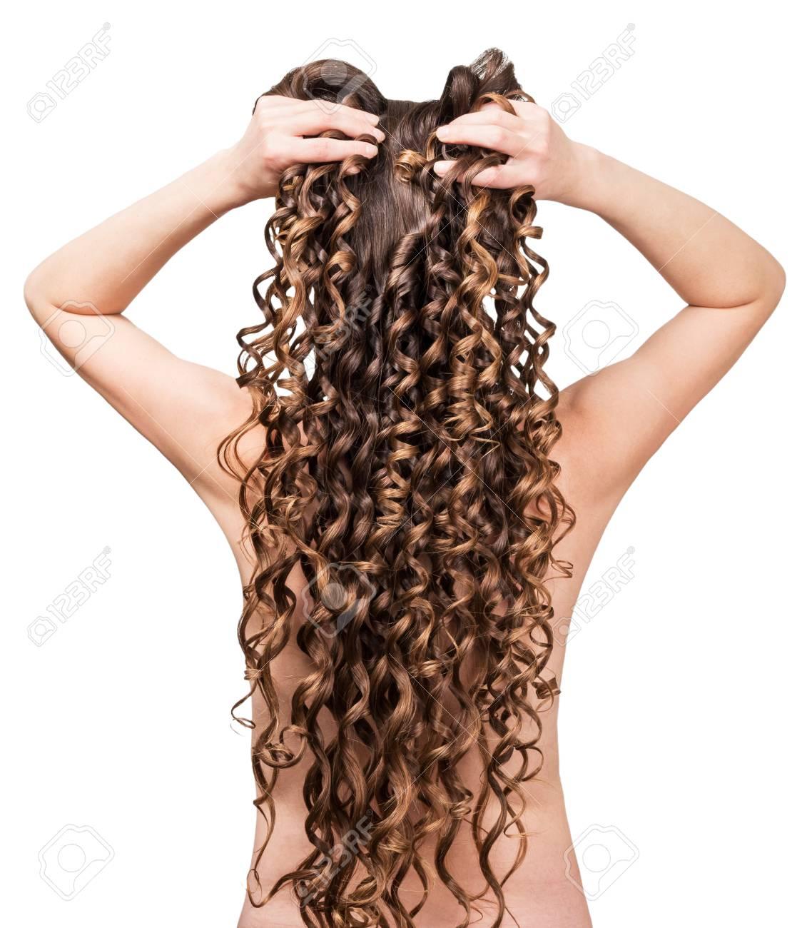 Hinten von braune lange haare Warum sehen