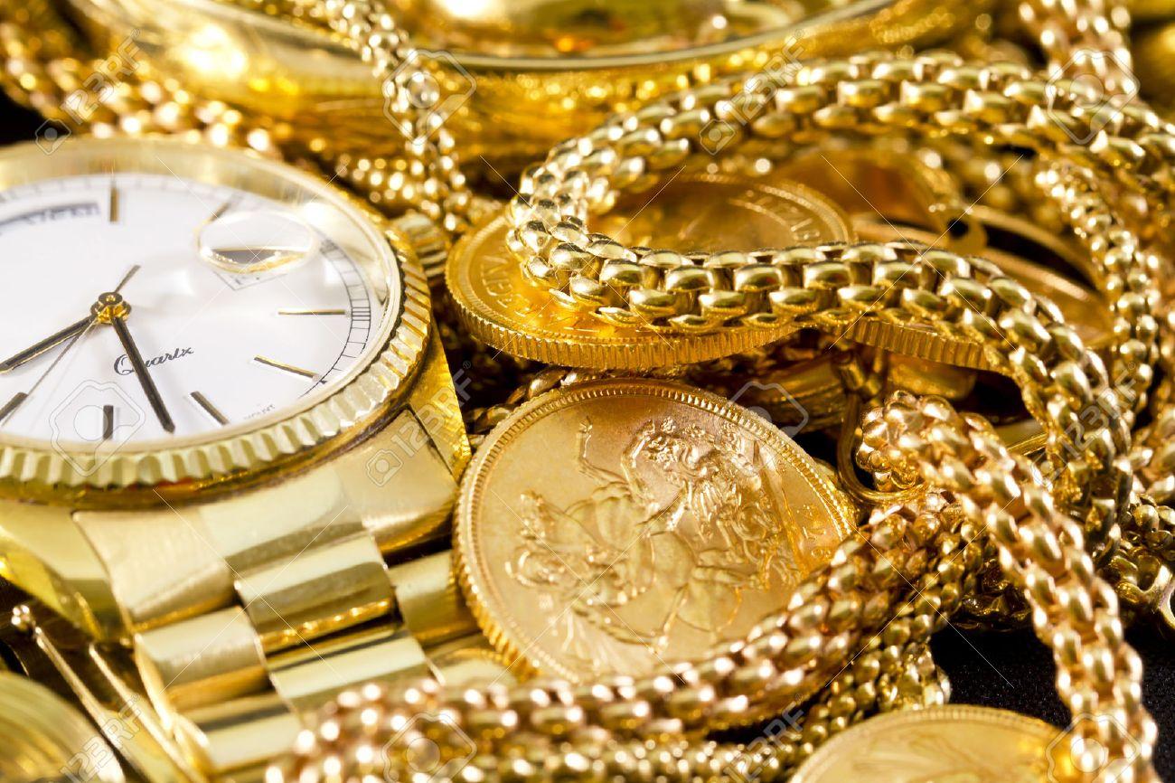 Schmuck gold  Schmuck, Gold, Ketten, Ringe, Armbänder, Uhren, Reichtum ...