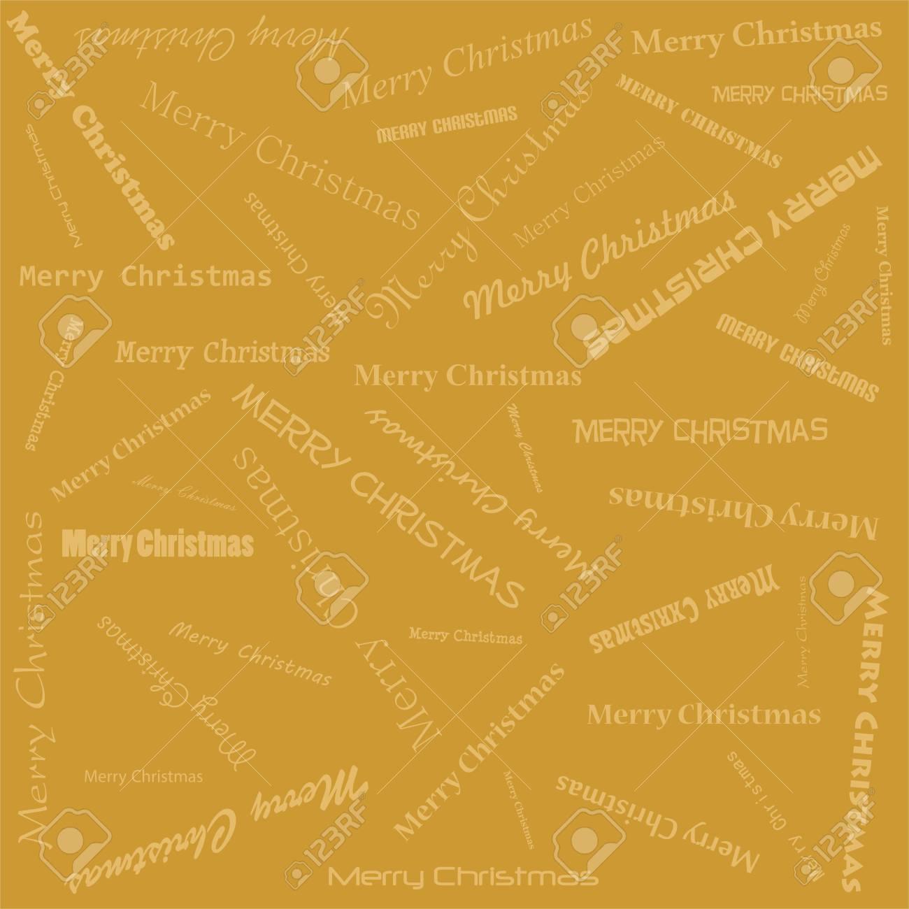 Complètement et trop extrême Fond De Noël Doré Avec Des Lettres Dorées Joyeux Noël Sur Un Fond &ZO_07