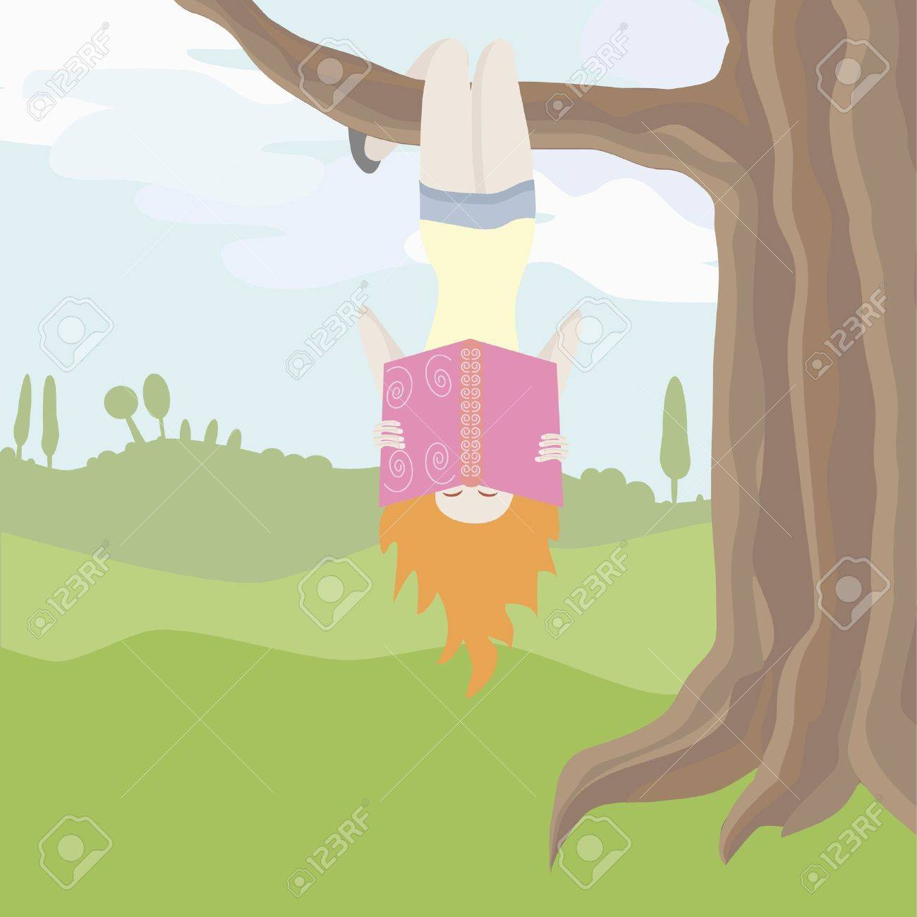 Hanging From a Tree Upside Down Hanging Upside Down an a