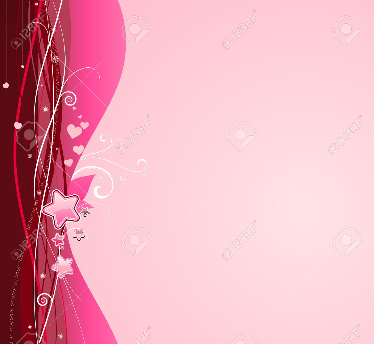 Ilustración Vectorial De Funky Rosa Resumen De Antecedentes. Ideal ...