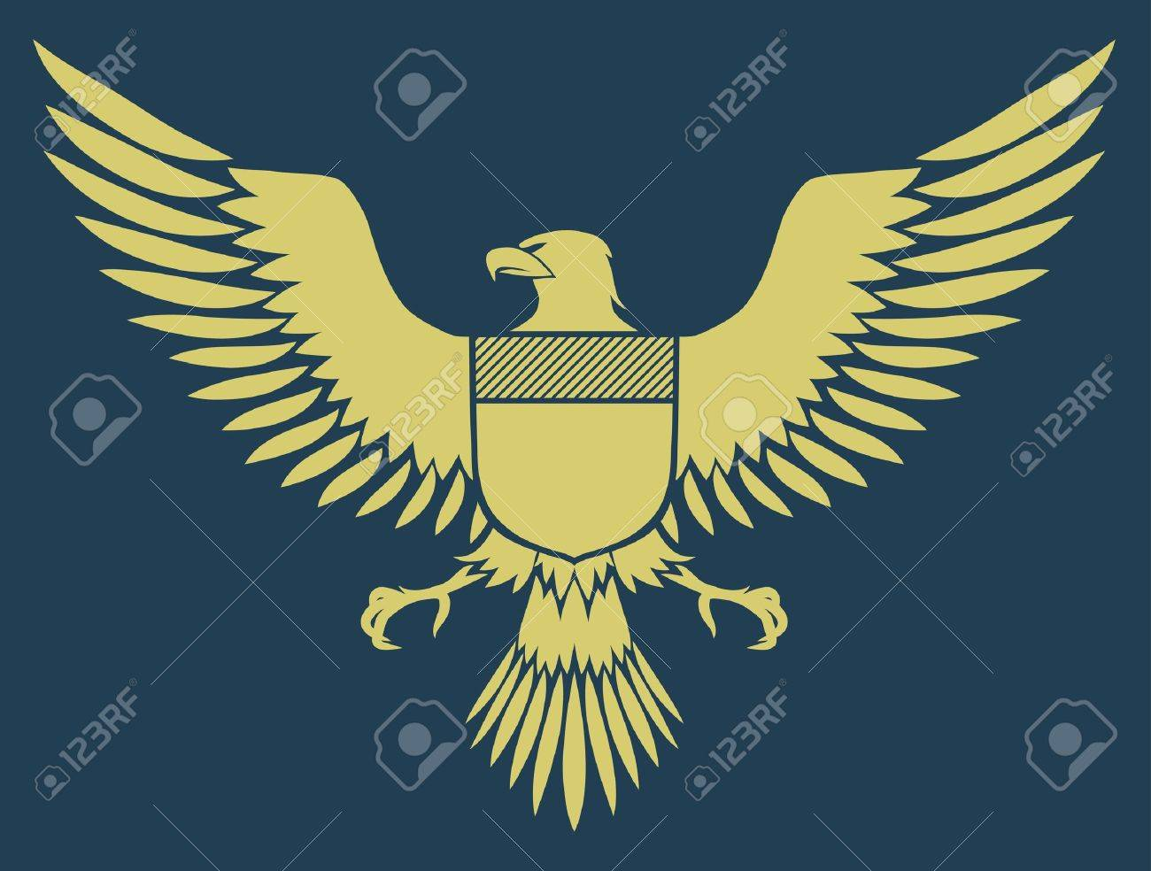 coat-of-arms bird - Medieval Eagle of my own design Stock Photo - 5268172