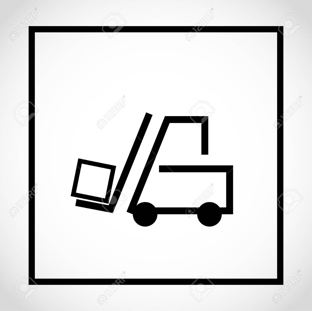 Use Forks Packaging Pictorial Marking For Handling Of Goods