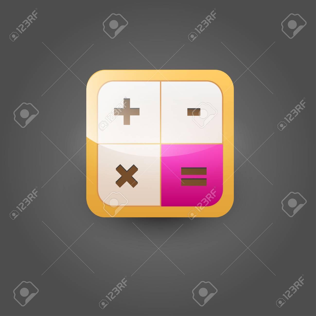 User interface calculator icon Stock Vector - 21314301