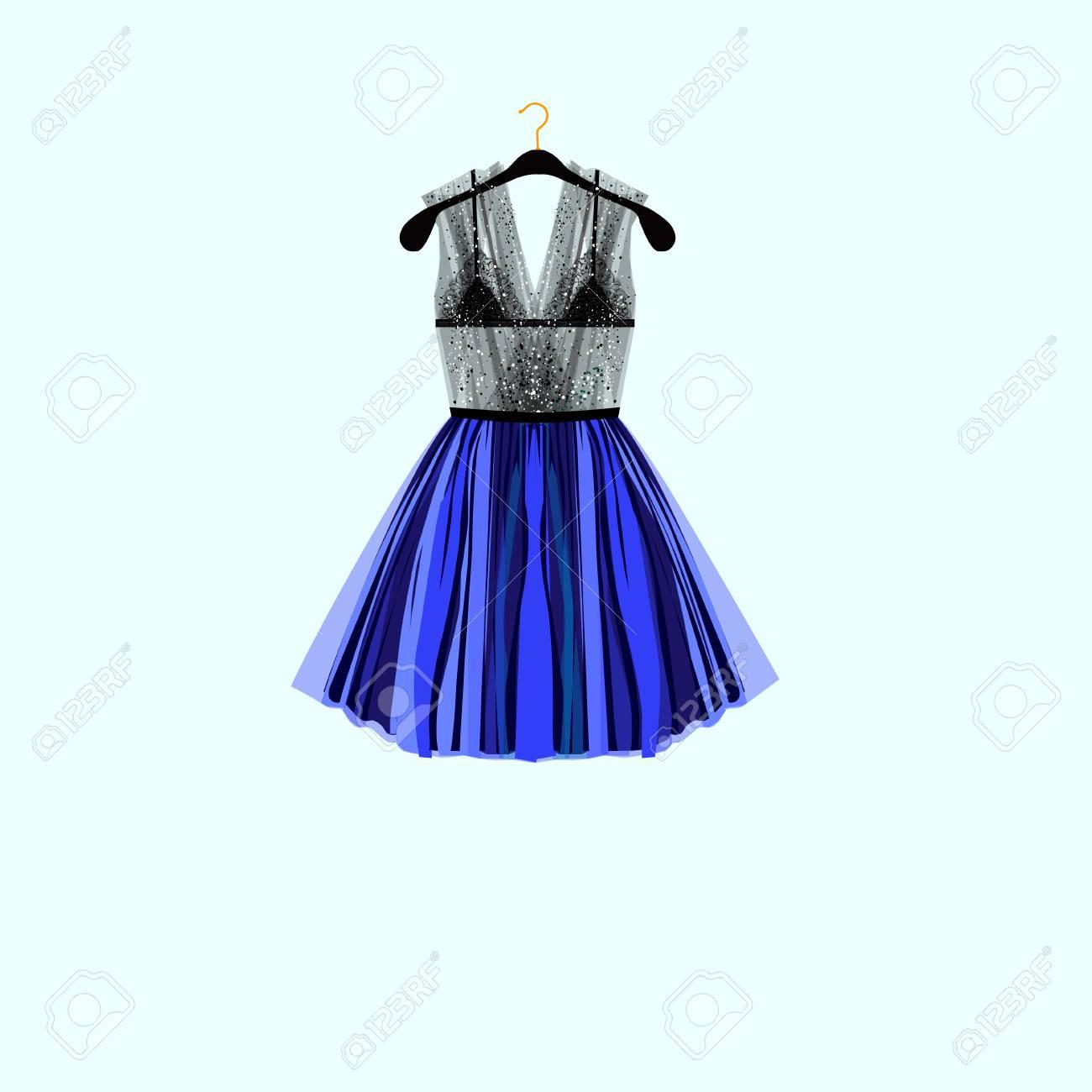 美しいパーティー ドレスブラック ラインス トーン ドレス