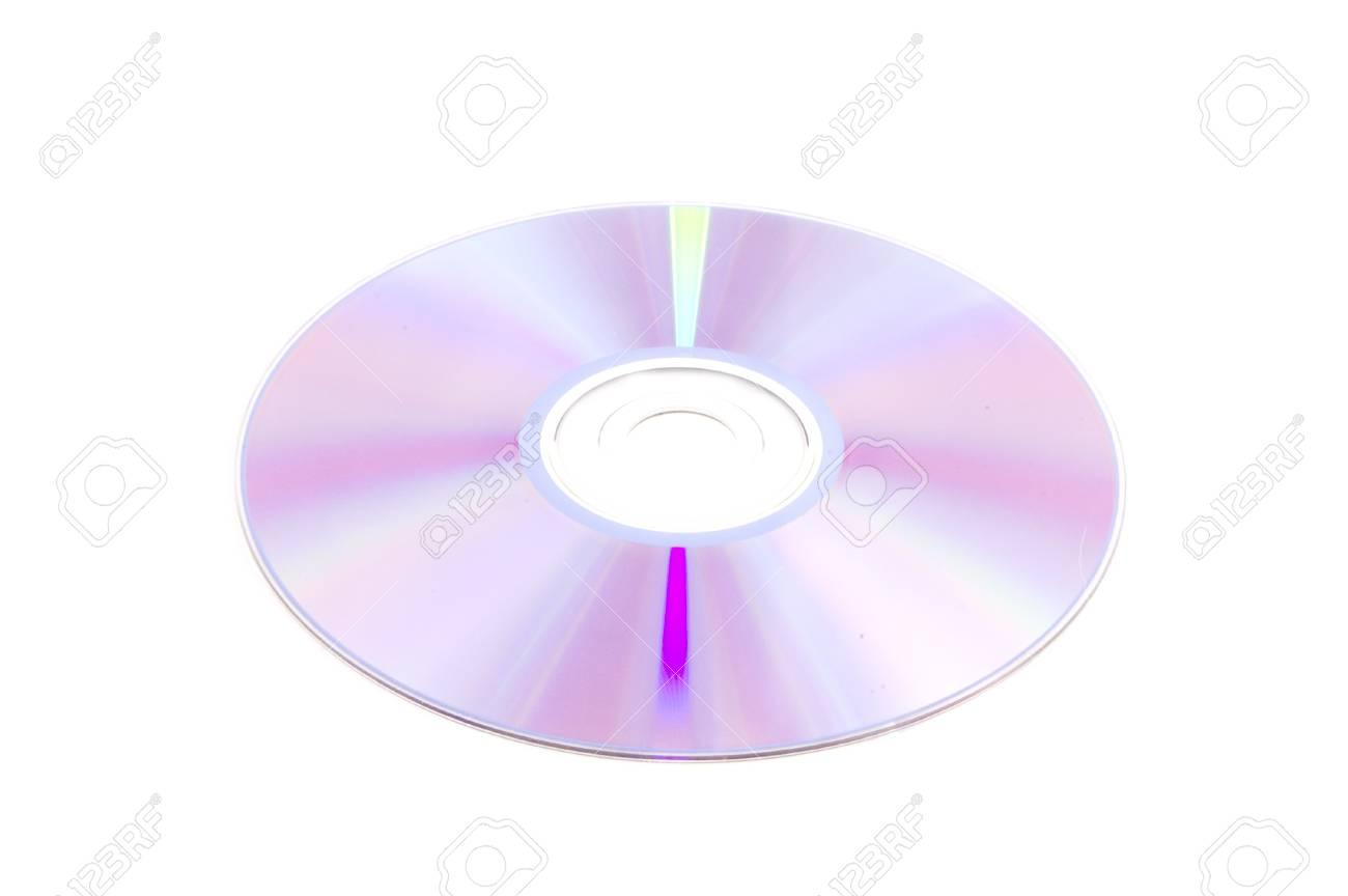 Disc isolated on white Stock Photo - 4350297
