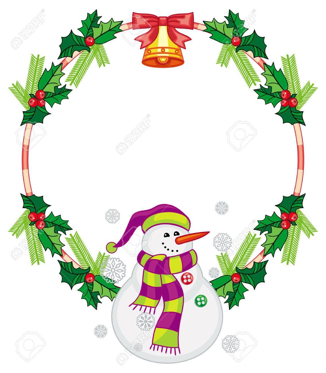 フレーム クリスマス イラスト 無料