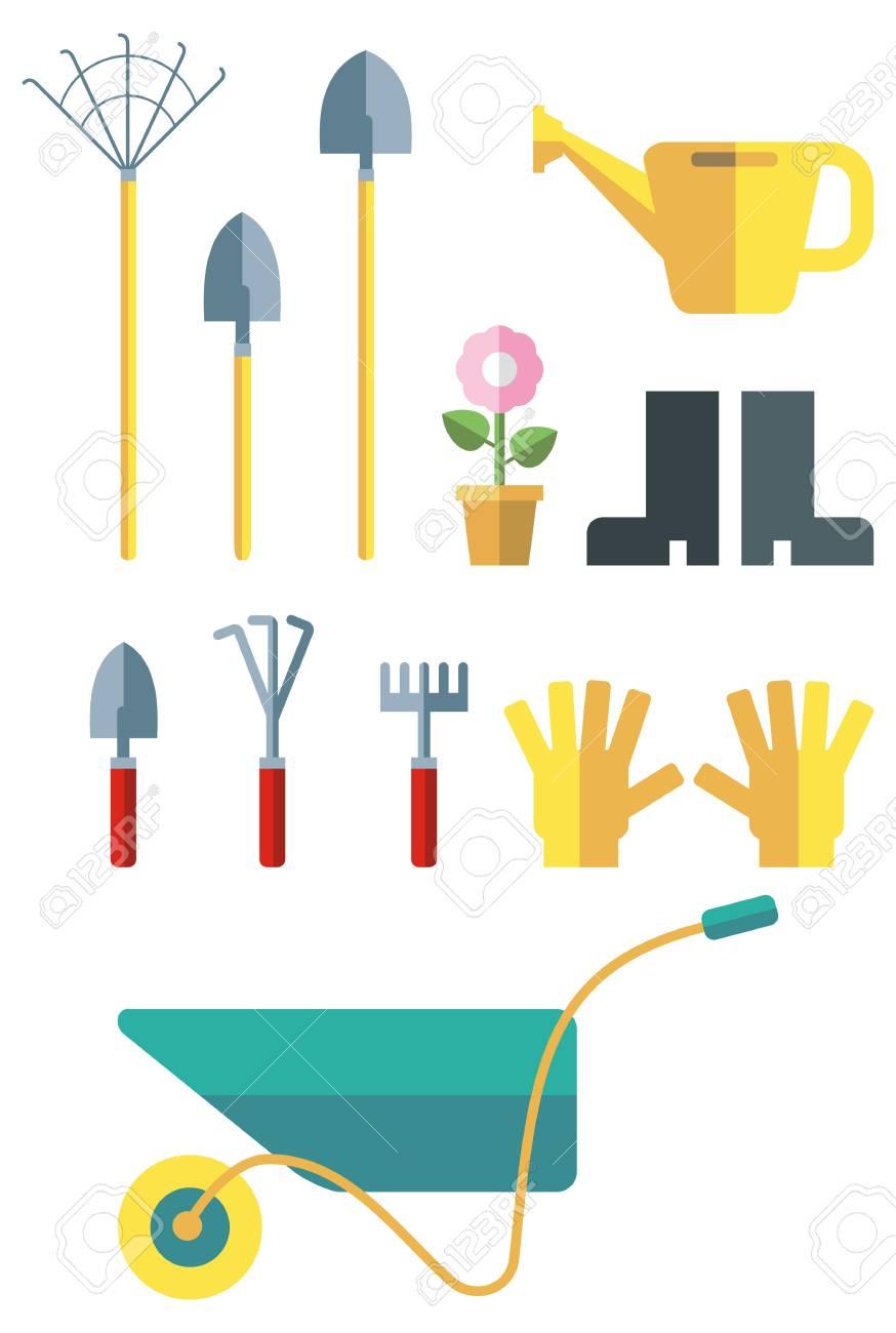 Garden Tools Art Projects