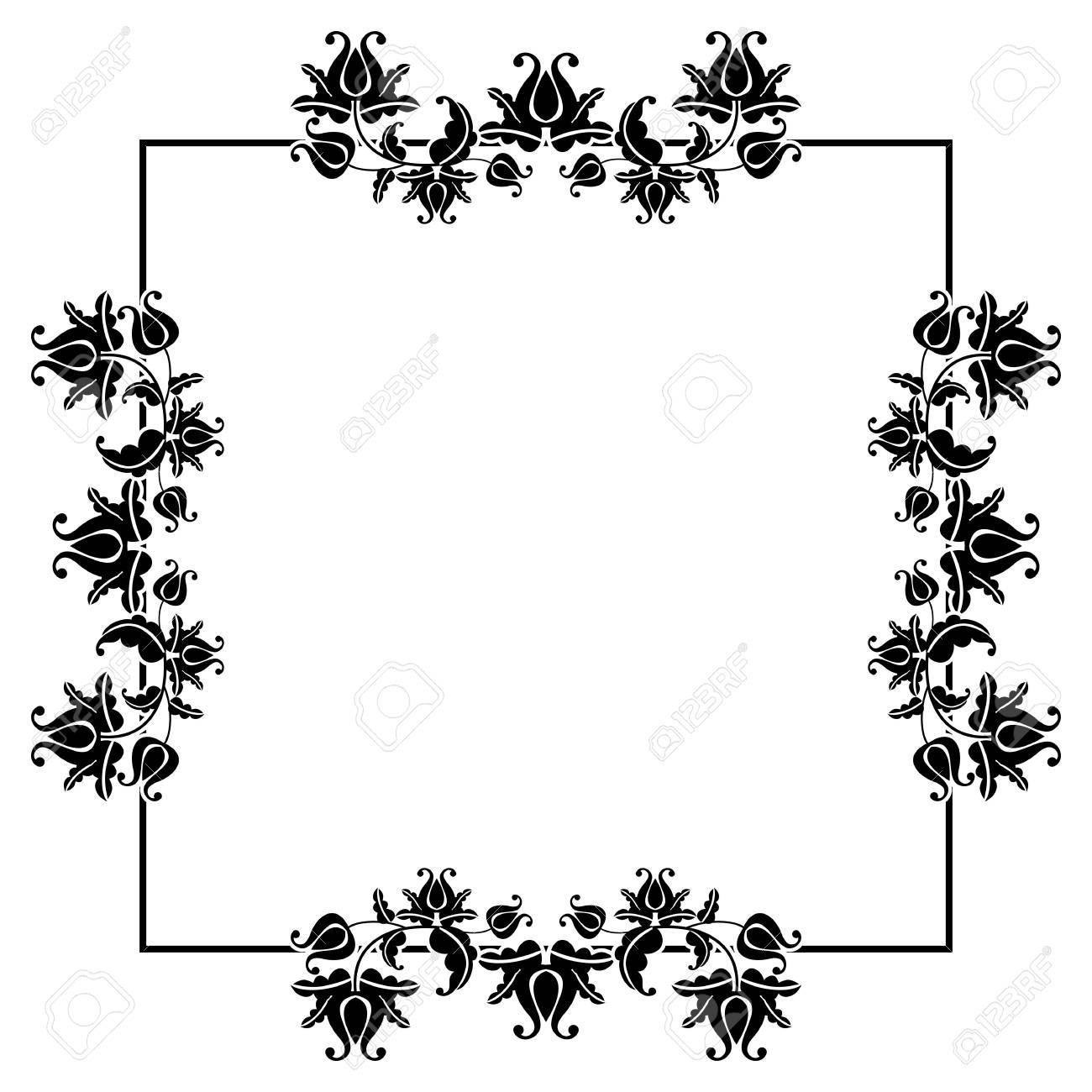 Ausgezeichnet Quadratischer Metallrahmen Fotos - Benutzerdefinierte ...