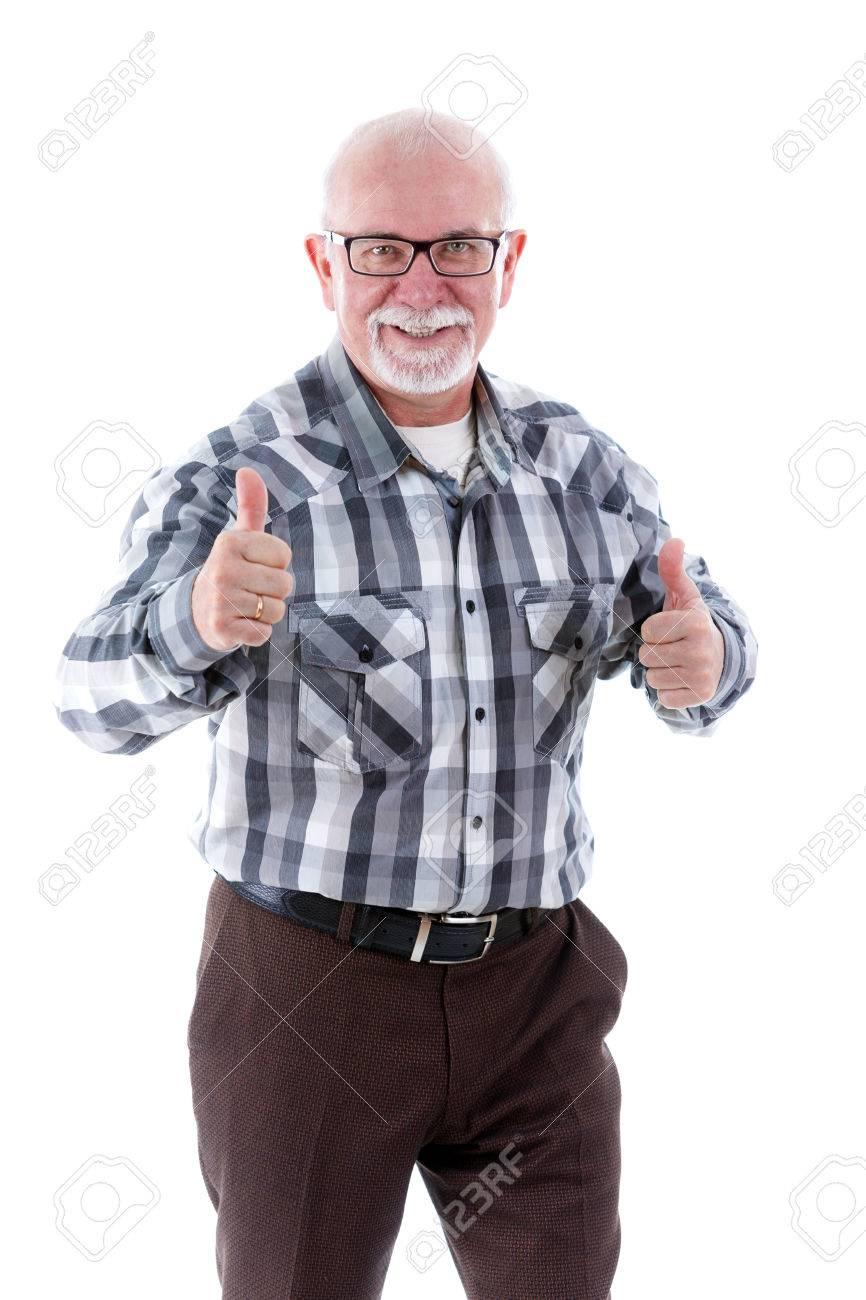 Gelukkige oude man!