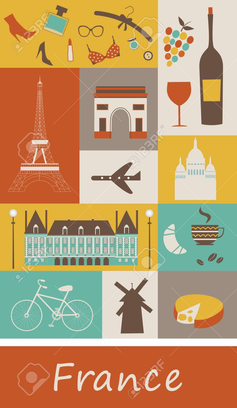 Symbols Of France Vector Stock Photo Picture And Royalty Free