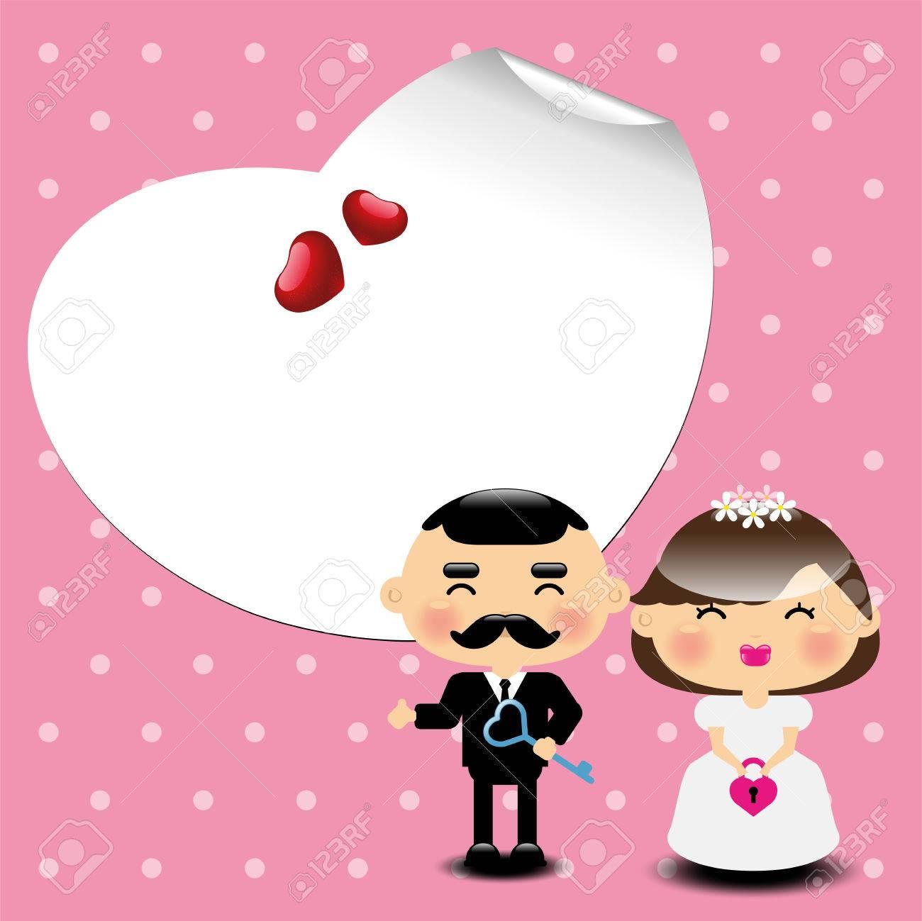 Mariage Carton Dinvitation Template Illustration