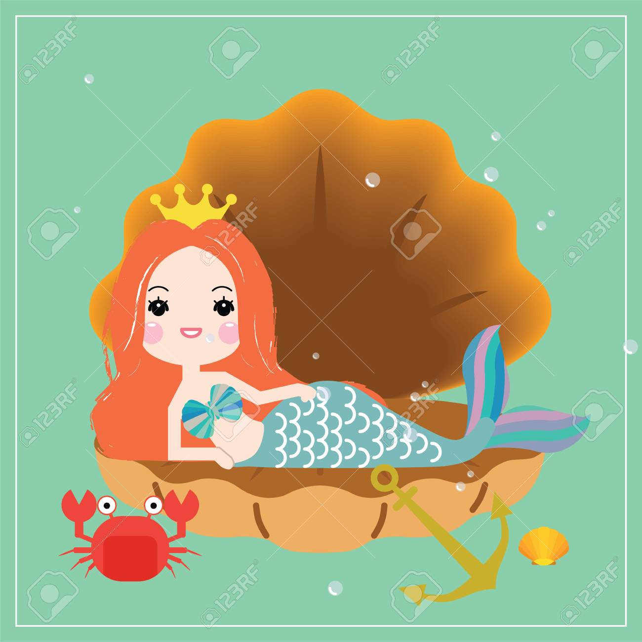 Set Of Illustration Cute Animal And Plant Under Sea Hand Drawn, Cute,  Underwater, Water PNG and Vector with Transparent Background for Free  Download