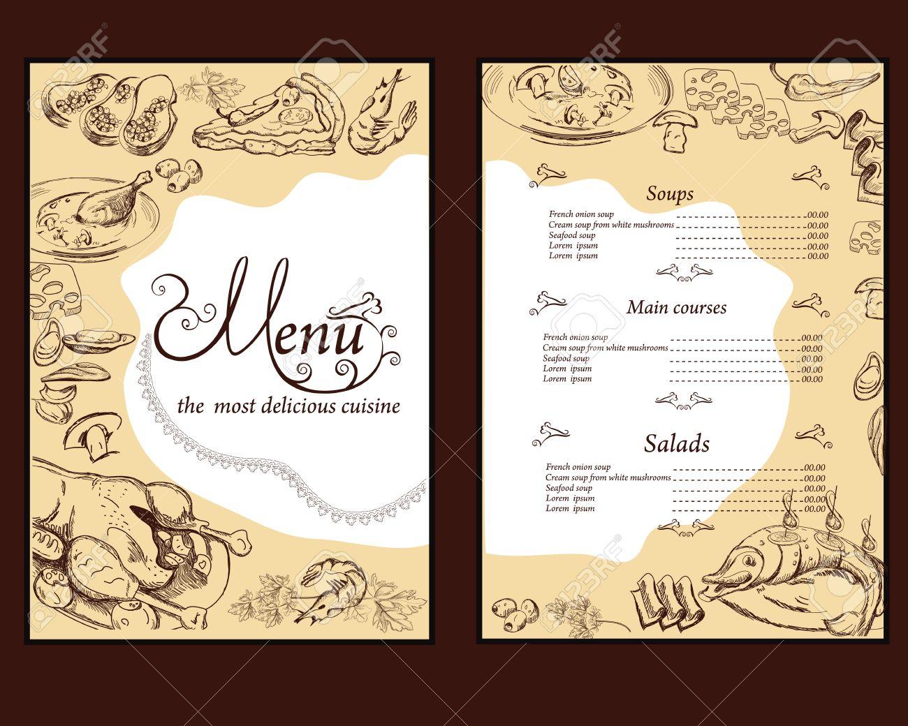 Fantastisch Essen Menüvorlage Wort Ideen - Beispiel Wiederaufnahme ...